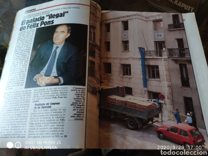 Coleccionismo de Revista Época: REVISTA EPOCA N° 274 (4 JUNIO 1990) - Foto 2 - 219193578