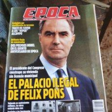 Coleccionismo de Revista Época: REVISTA EPOCA N° 274 (4 JUNIO 1990). Lote 219193578