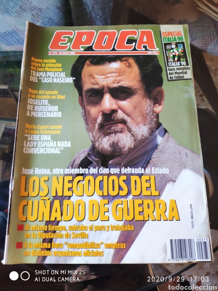 REVISTA EPOCA N° 273 (28 MAYO 1990) (Coleccionismo - Revistas y Periódicos Modernos (a partir de 1.940) - Revista Época)