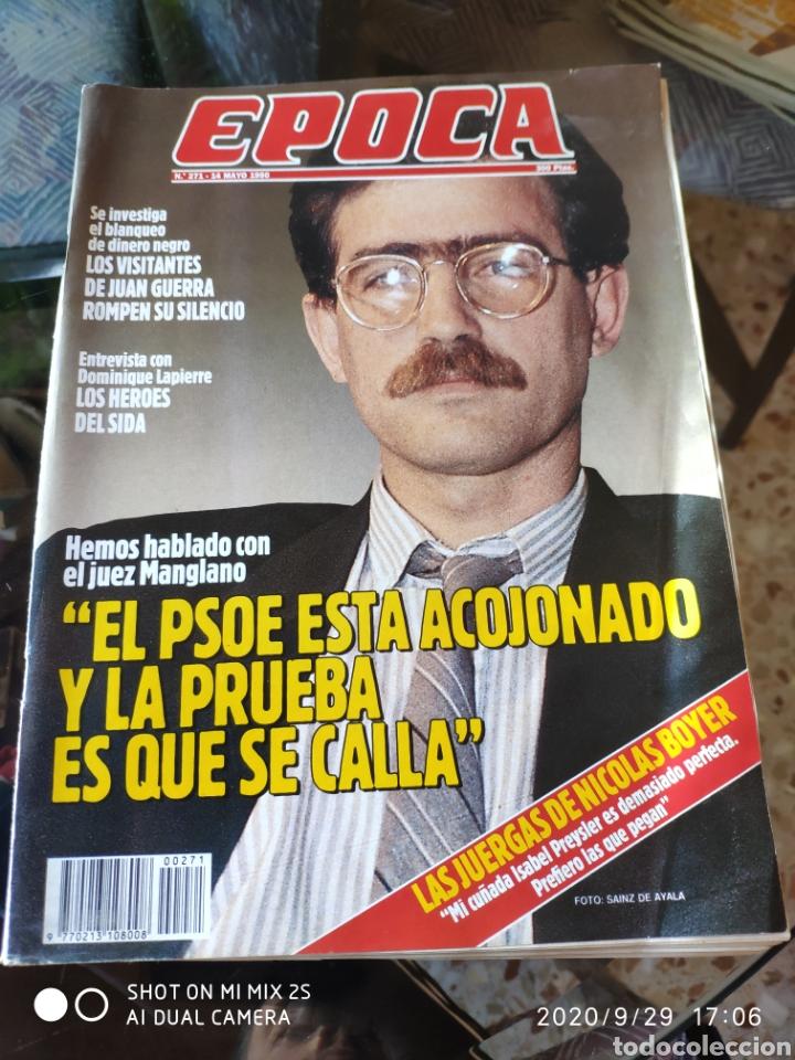 REVISTA EPOCA N° 271 (14 MAYO 1990) (Coleccionismo - Revistas y Periódicos Modernos (a partir de 1.940) - Revista Época)