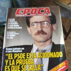 Coleccionismo de Revista Época: REVISTA EPOCA N° 271 (14 MAYO 1990). Lote 219194367
