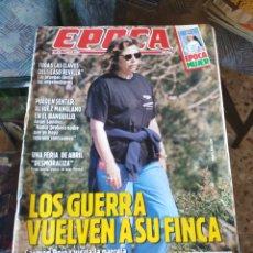 Coleccionismo de Revista Época: REVISTA EPOCA N° 270 (7 MAYO 1990). Lote 219194588