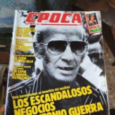 Coleccionismo de Revista Época: REVISTA EPOCA N° 266 (9 ABRIL 1990). Lote 219195345