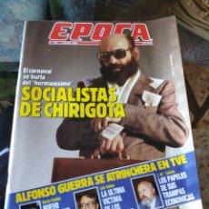 Coleccionismo de Revista Época: REVISTA EPOCA N° 261 (5 MARZO 1990). Lote 219196515