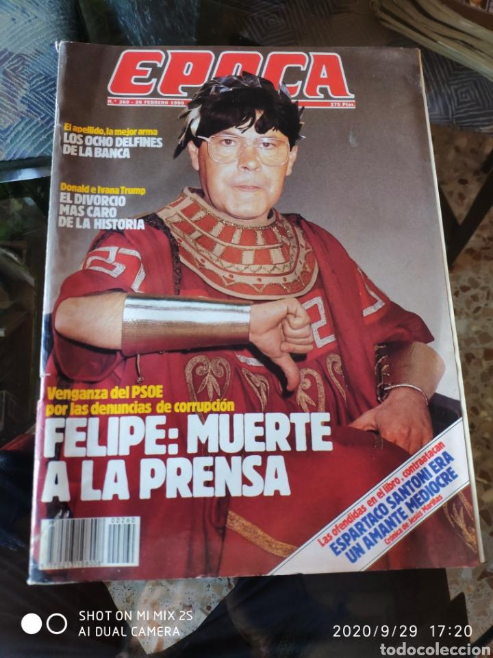 REVISTA EPOCA N° 260 (26 FEBRERO 1990) (Coleccionismo - Revistas y Periódicos Modernos (a partir de 1.940) - Revista Época)