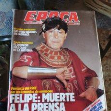 Coleccionismo de Revista Época: REVISTA EPOCA N° 260 (26 FEBRERO 1990). Lote 219196806