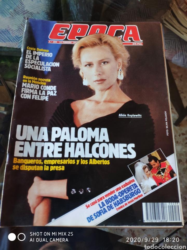 REVISTA EPOCA N° 259 (19 FEBRERO 1990) (Coleccionismo - Revistas y Periódicos Modernos (a partir de 1.940) - Revista Época)