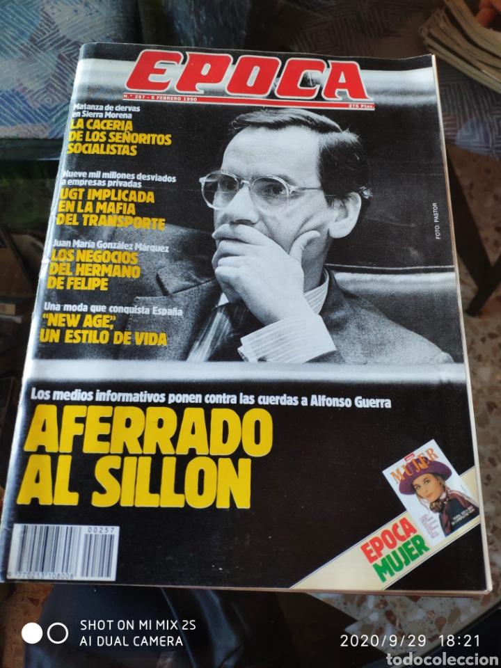 REVISTA EPOCA N° 257 (5 FEBRERO 1990) (Coleccionismo - Revistas y Periódicos Modernos (a partir de 1.940) - Revista Época)