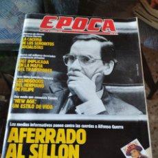 Coleccionismo de Revista Época: REVISTA EPOCA N° 257 (5 FEBRERO 1990). Lote 219205492