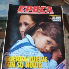 Coleccionismo de Revista Época: REVISTA EPOCA N° 256 (29 ENERO 1990). Lote 219205780