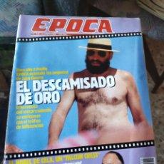 Coleccionismo de Revista Época: REVISTA EPOCA N° 255 (22 ENERO 1990). Lote 219206033