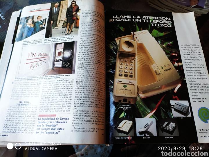 Coleccionismo de Revista Época: REVISTA EPOCA N° 251 (1 ENERO 1990) - Foto 3 - 219206411