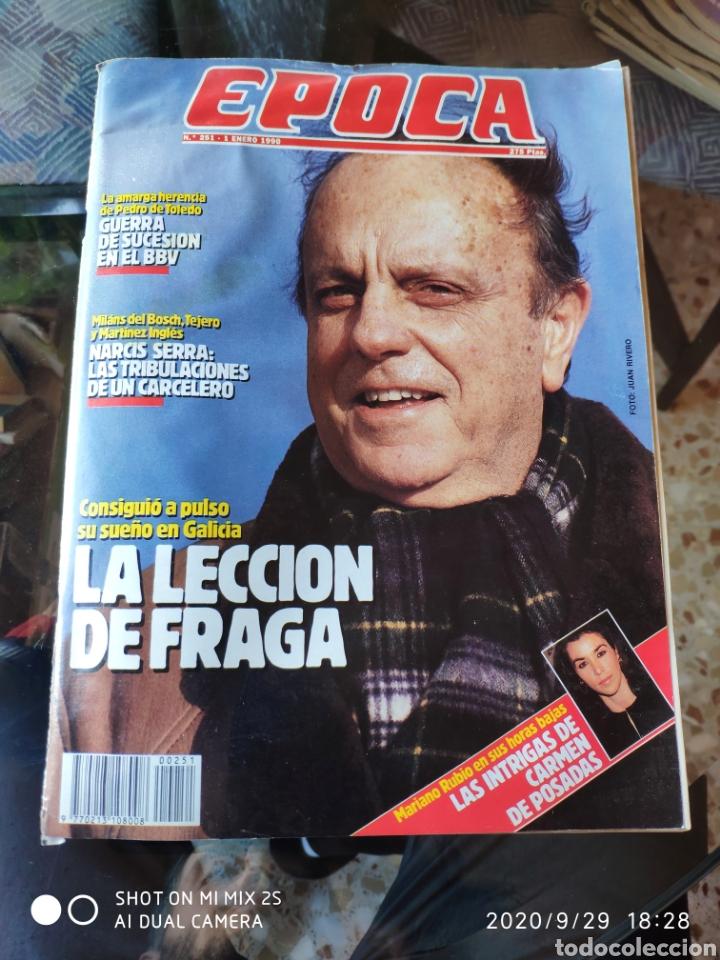 REVISTA EPOCA N° 251 (1 ENERO 1990) (Coleccionismo - Revistas y Periódicos Modernos (a partir de 1.940) - Revista Época)