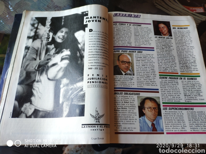 Coleccionismo de Revista Época: REVISTA EPOCA N° 249 (18 DICIEMBRE 1989) - Foto 3 - 219206736
