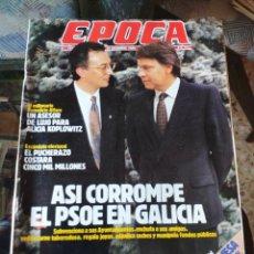 Coleccionismo de Revista Época: REVISTA EPOCA N° 249 (18 DICIEMBRE 1989). Lote 219206736