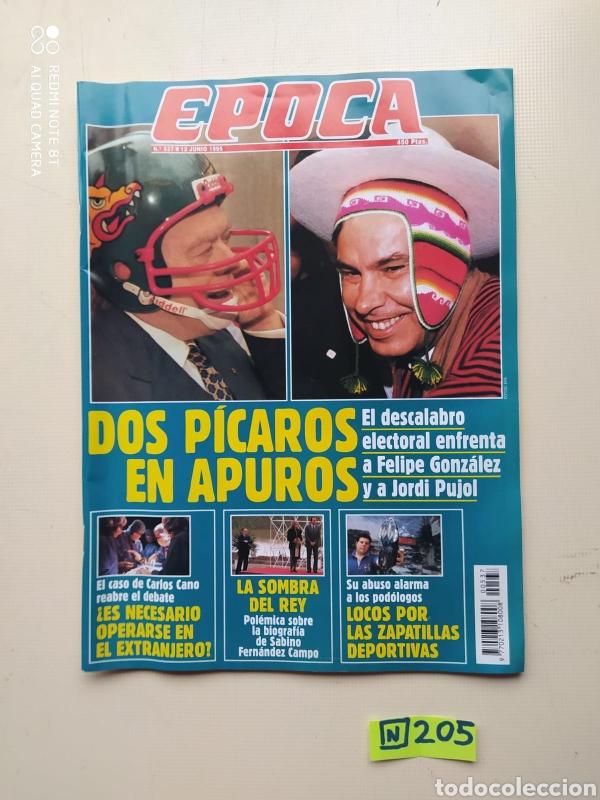 ÉPOCA (Coleccionismo - Revistas y Periódicos Modernos (a partir de 1.940) - Revista Época)