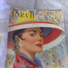 Coleccionismo de Revista Época: PARA TI TENISTA DE ÉPOCA. Lote 225867710