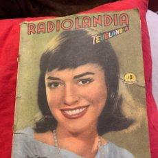 Coleccionismo de Revista Época: RADIOLANDIA REVISTA DE ÉPOCA TEVELANDIA. Lote 225870681