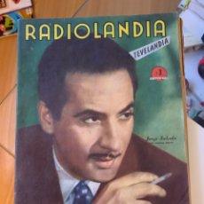 Coleccionismo de Revista Época: RADIOLANDIA REVISTA DE ÉPOCA TEVELANDIA. Lote 225880500
