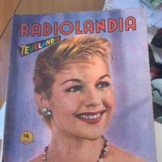 Coleccionismo de Revista Época: RADIOLANDIA REVISTA DE ÉPOCA TEVELANDIA. Lote 225881115