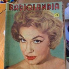 Coleccionismo de Revista Época: RADIOLANDIA REVISTA DE ÉPOCA TEVELANDIA. Lote 225881820