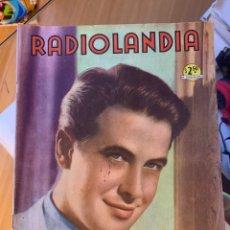 Coleccionismo de Revista Época: RADIOLANDIA REVISTA DE ÉPOCA TEVELANDIA. Lote 225882780