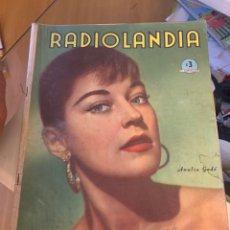 Coleccionismo de Revista Época: RADIOLANDIA REVISTA DE ÉPOCA TEVELANDIA. Lote 225883268