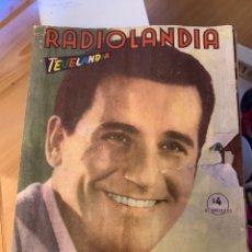 Coleccionismo de Revista Época: RADIOLANDIA REVISTA DE ÉPOCA TEVELANDIA. Lote 225884890