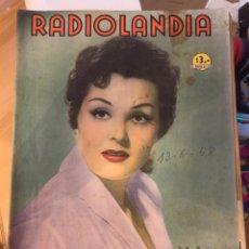 Coleccionismo de Revista Época: RADIOLANDIA REVISTA DE ÉPOCA TEVELANDIA. Lote 225885370
