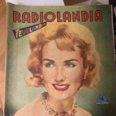 Coleccionismo de Revista Época: RADIOLANDIA REVISTA DE ÉPOCA TEVELANDIA. Lote 225886015