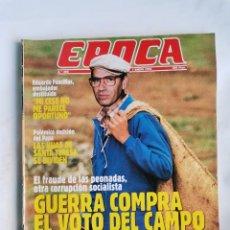Coleccionismo de Revista Época: REVISTA ÉPOCA 305 ENERO 1991. Lote 232850040