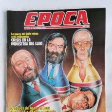 Coleccionismo de Revista Época: REVISTA ÉPOCA 311 FEBRERO 1991 LA CAÍDA DEL CLAN GUERRA. Lote 232850990