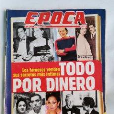 Coleccionismo de Revista Época: REVISTA ÉPOCA 312 FEBRERO 1991 LOS FAMOSOS 23-F. Lote 232851590