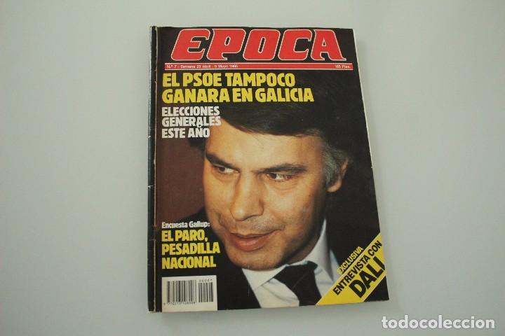 REVISTA ÉPOCA MAYO 1985 (Coleccionismo - Revistas y Periódicos Modernos (a partir de 1.940) - Revista Época)