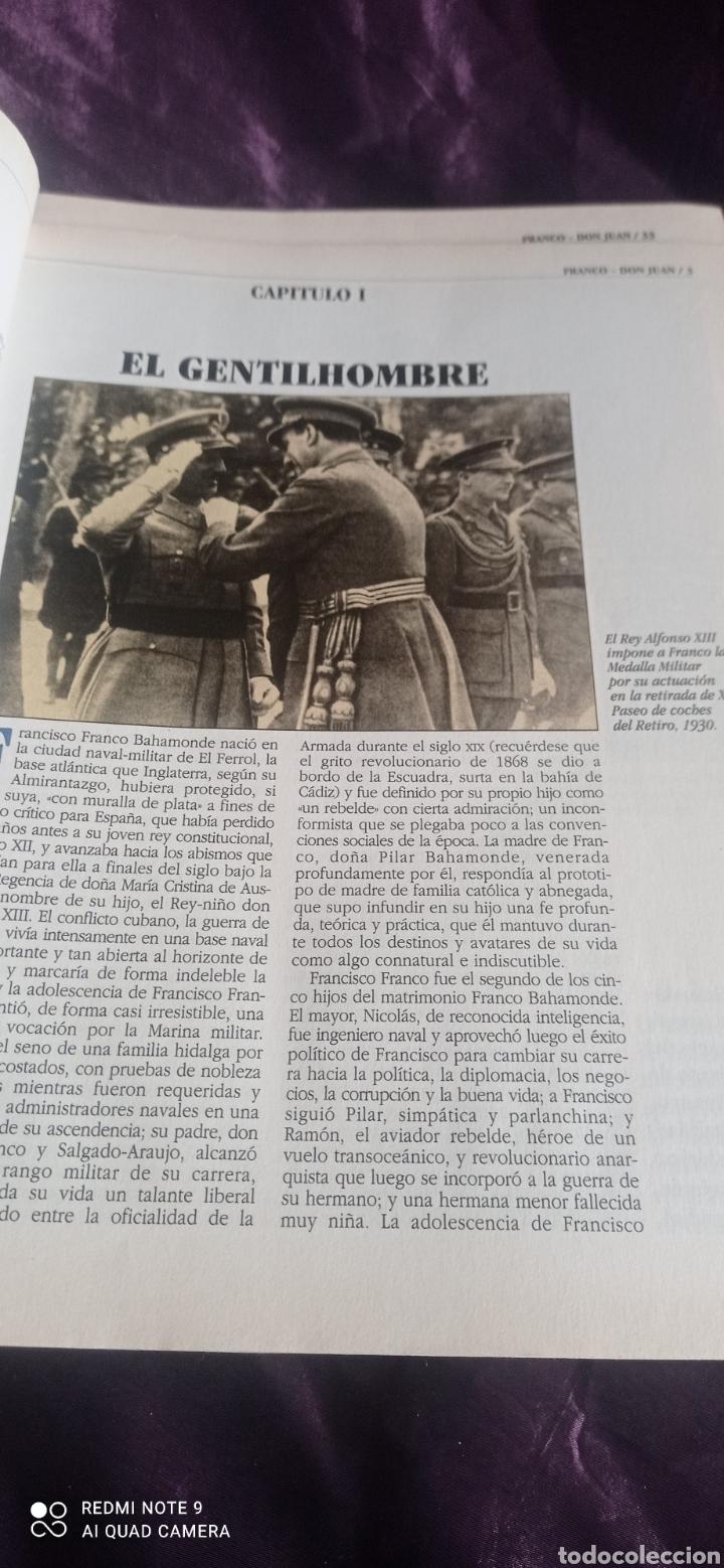 Coleccionismo de Revista Época: Fascículos Franco Don Juan los Reyes sin corona. Ricardo de la Cierva . Epoca - Foto 4 - 237278720