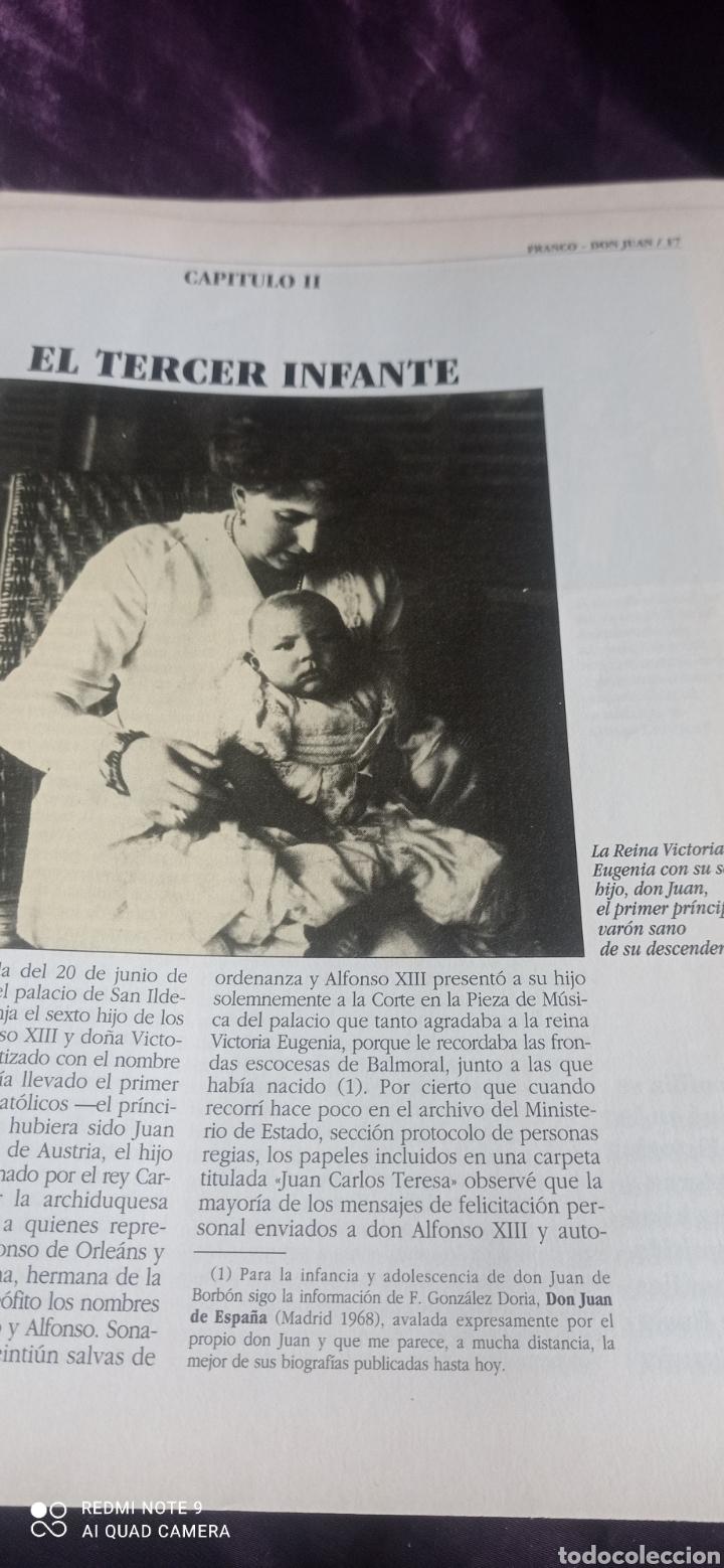 Coleccionismo de Revista Época: Fascículos Franco Don Juan los Reyes sin corona. Ricardo de la Cierva . Epoca - Foto 5 - 237278720