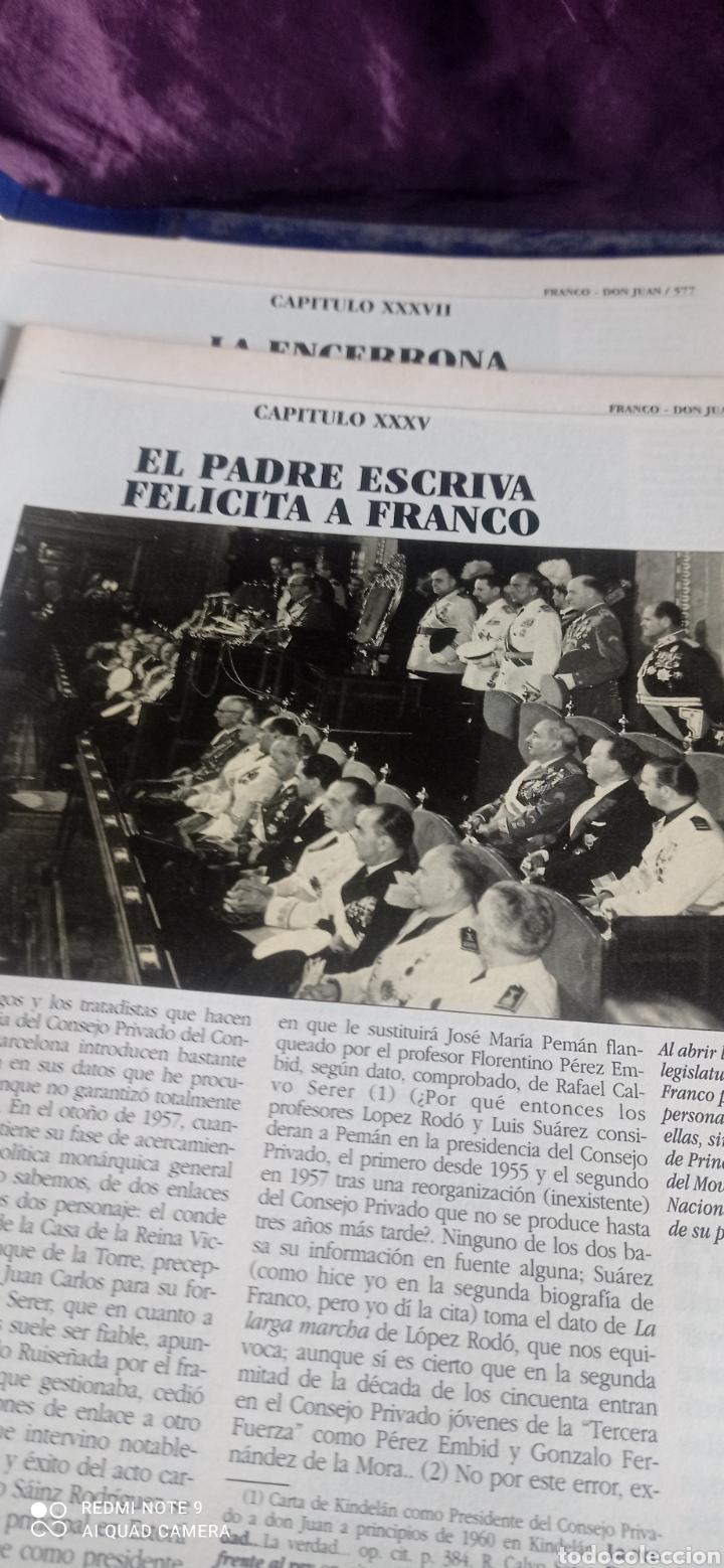 Coleccionismo de Revista Época: Fascículos Franco Don Juan los Reyes sin corona. Ricardo de la Cierva . Epoca - Foto 6 - 237278720