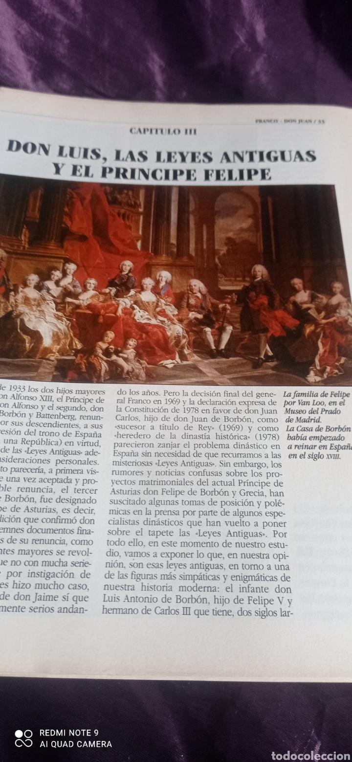 Coleccionismo de Revista Época: Fascículos Franco Don Juan los Reyes sin corona. Ricardo de la Cierva . Epoca - Foto 8 - 237278720