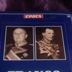 Coleccionismo de Revista Época: FASCÍCULOS FRANCO DON JUAN LOS REYES SIN CORONA. RICARDO DE LA CIERVA . EPOCA. Lote 237278720