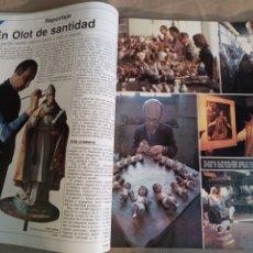 Coleccionismo de Revista Época: REVISTA 1981. OLOT EXPORTA SANTOS AL MUNDO - MURIÓ BRASSENS - ESPAÑA SE MUERE DE SED , REPORTAJE. Lote 248457540