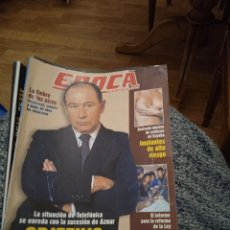 Coleccionismo de Revista Época: REVISTA ÉPOCA JULIO DEL 2000 OBJETIVO RATO. Lote 249414915