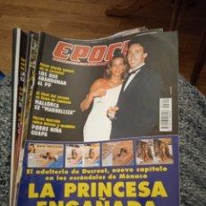 Coleccionismo de Revista Época: REVISTA ÉPOCA SEPTIEMBRE DE 1996 LA PRINCESA ENGAÑADA. Lote 249414930