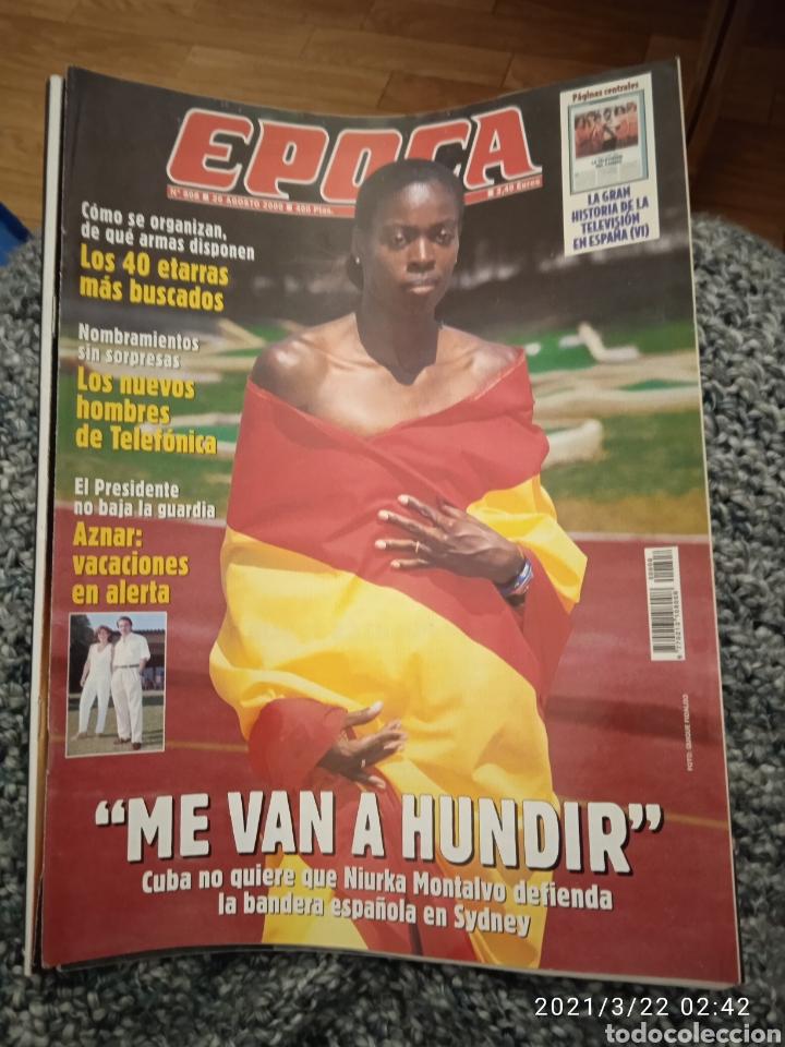 REVISTA ÉPOCA AGOSTO DEL 2000 (Coleccionismo - Revistas y Periódicos Modernos (a partir de 1.940) - Revista Época)