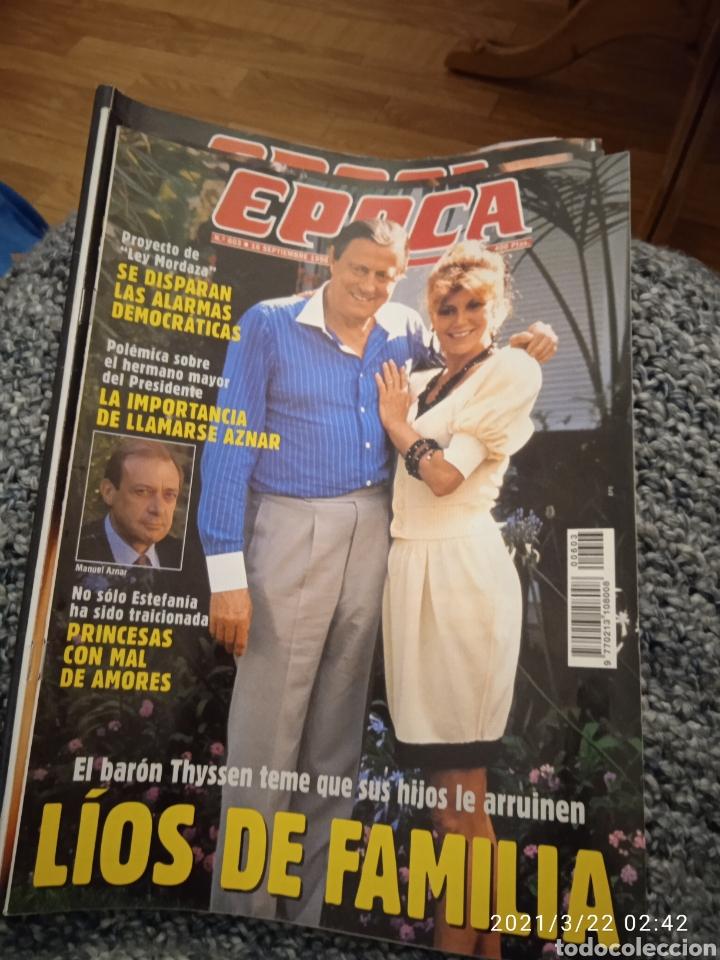 REVISTA ÉPOCA SEPTIEMBRE DEL 1996 LÍOS DE FAMILIA (Coleccionismo - Revistas y Periódicos Modernos (a partir de 1.940) - Revista Época)