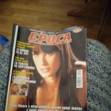 Coleccionismo de Revista Época: REVISTA ÉPOCA SEPTIEMBRE DE 1996 ALGO MÁS QUE UN SEX SYMBOL. Lote 249414985