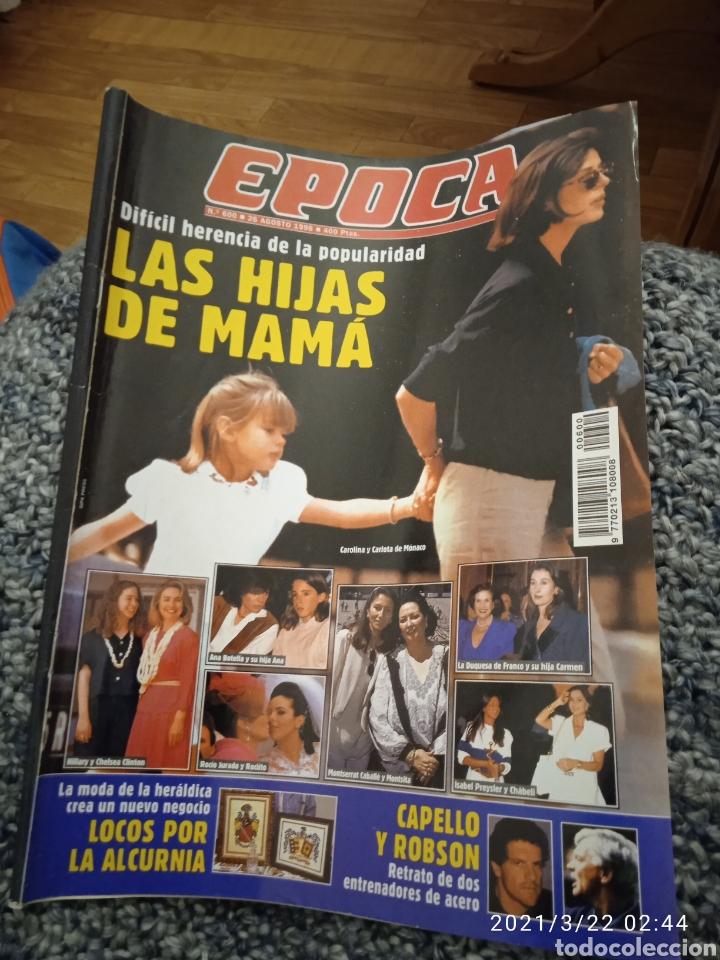 REVISTA ÉPOCA LAS HIJAS DE MAMA AGOSTO 1996 (Coleccionismo - Revistas y Periódicos Modernos (a partir de 1.940) - Revista Época)