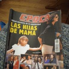 Coleccionismo de Revista Época: REVISTA ÉPOCA LAS HIJAS DE MAMA AGOSTO 1996. Lote 249414990
