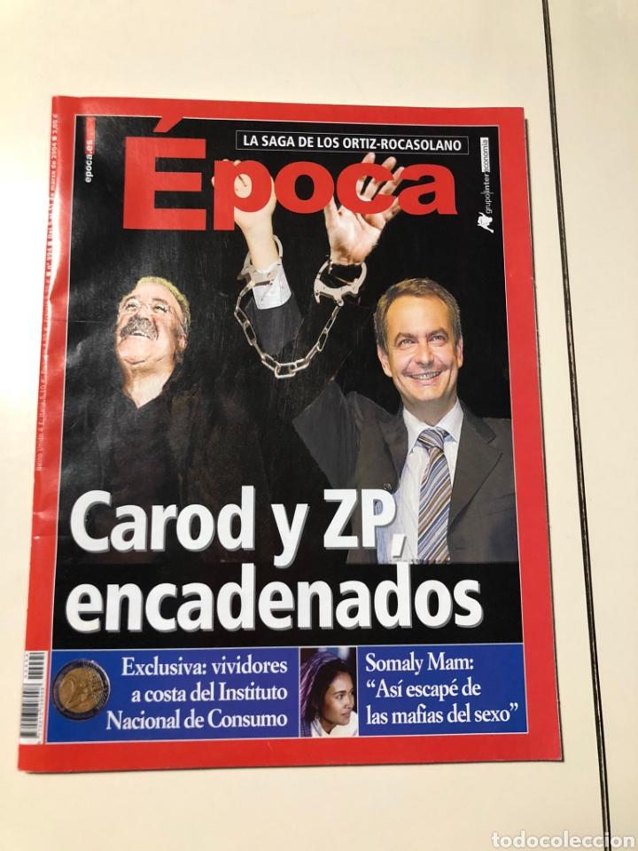 REVISTA ÉPOCA N° 994. AÑO 2004 (Coleccionismo - Revistas y Periódicos Modernos (a partir de 1.940) - Revista Época)