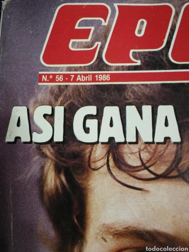 Coleccionismo de Revista Época: Revista epoca. Numero 56. De 1986. - Foto 2 - 257575015