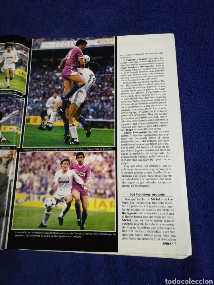 Coleccionismo de Revista Época: Revista epoca. Numero 56. De 1986. - Foto 5 - 257575015